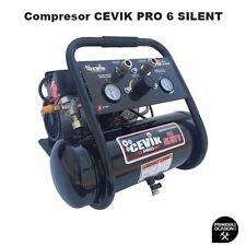Cevik Pro 6 Silent 230V Compresor de Aire - Negro