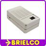 CAJA PLASTICO ABS GRIS MONTAJES ELECTRICOS 78X125X44MM TAPAS Y REJILLAS