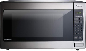 Panasonic Microwave Oven NN-SN966S Stainless Steel Countertop/Built-In with Inve