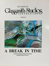 A Break In Time Glassmith Studios Panels Suncatchers Doors 1995 Paperback