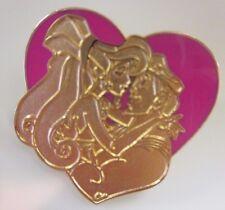 Disney Pin - Megara & Hercules Heart - Cast Lanyard #15322