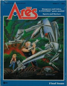 Ares Magazine #17 Universe, Gamma World, Star Frontiers, Car Wars Shrink   FS