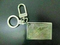 Auth LOUIS VUITTON Porte Cles Gene Key Ring M65374 Silver Plated Good 85860