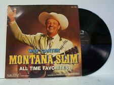 "MONTANA SLIM / WILF CARTER ""ALL TIME FAVORITES"" LP"
