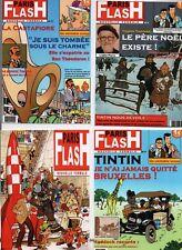 Carte Postale Tintin -  4  cartes PARIS FLASH  A. Pastiche IMAGES DE TINTIN 2017