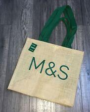 NEW M & S Sparks Jute Shopping Bag