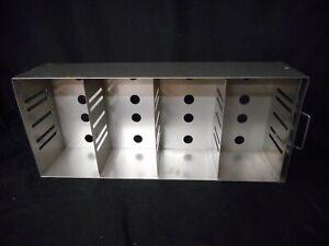 "THERMO SCIENTIFIC Revco SS 2-3"" Box Adjustable Upright Lab Freezer Rack 6113-1 C"