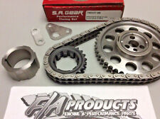 SA GEAR 78533T-9R Chevy LS Engine Billet Timing Set 5.3L 5.7L .250 Double Roller
