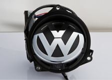 Volkswagen Rotating reverse Vw Emblem Rearview Camera with VW logo Flipping Cam