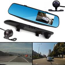 """4"""" Zoll HD 1080P 120° Auto Rückspiegel Monitor Spiegel Kamera Dash Camcorder DVR"""