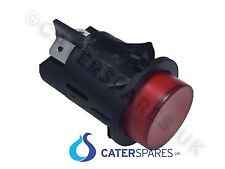 RED ROUND PUSH BUTTON FOR HEATED GANTRY UNIT ON / OFF POWER SWITCH DOUBLE POLE