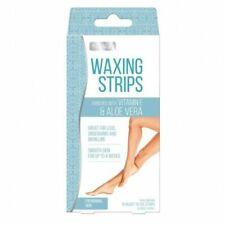 Women Hair Removal 16 Wax Strips For Leg Underarms Bikini Line