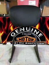 Harley Davidson Softail Arrugas Negro Ancho Rígido Respaldo >200 Neumático >