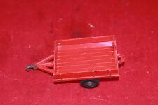 Vintage Red Hubley Kiddie Toy No.4  Trailer Lancaster, PA