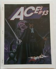 ACES #13 pulp related fanzine created by Paul McCall  1999