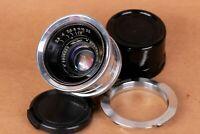 ⭐ Jupiter ⭐ JUPITER 12, Lens 35mm f2.8, M39 mount L(M) for Leica, Russian Sonnar