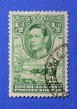 1938 BECHUANALAND PROTECTORATE 1/2d SCOTT# 124 S.G.# 118 USED           CS20648