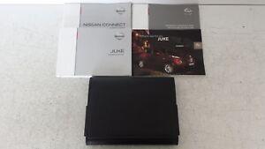Nissan Juke 2010-2015 F15-U5 Owners Manual Handbook Leather Wallet QR11EF15E1E