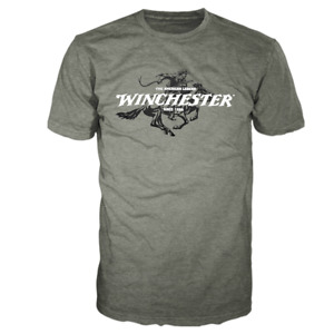 Winchester Official Legend Rider Graphic Short Sleeve T-Shirt for Men