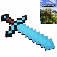 Spada di Diamante di Minecraft in gomma Foam denso per cosplay