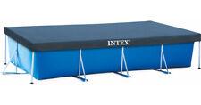 Intex 28039 marco rectangular 460x226cm 15x7.5FT cubierta de piscina de chapa de acero
