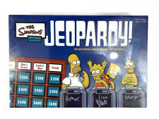 The Simpsons Edition Jeopardy Board Game 2003 Brand New Factory Sealed