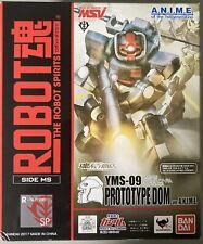 Bandai Robot Spirits Damashii Mobile Suit Gundam YMS Dom Prototype Action Figure