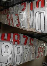 numeri x maglia shirt milan adidas originali original stilscreen nuovi