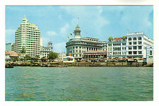 Waterfront - Singapore Photo Postcard 1962