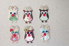 Stampin' Up Christmas Holiday Reindeer Owls 6
