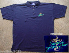 Golf Irlande Ryder Cup 2006 Polo Shirt Navy Blue X Large NEUF