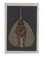 Carta Pittura Su Foglio Di Pipal Kamasutra 100% Fatto a Mano Peterandclo K188