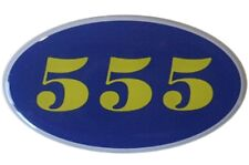 SUBARU IMPREZA WRC 555 badge CALANDRE/GRILL BADGE/Wing badge