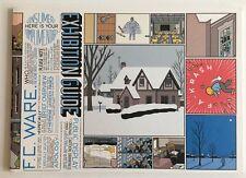 CHRIS WARE Exhibition Guide Sheldon Memorial Art Gallery Acme Novelty Library