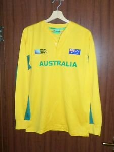 AUSTRALIA RUGBY 2011 World cup Jersey Shirt size M Tricot Maglia Camiseta