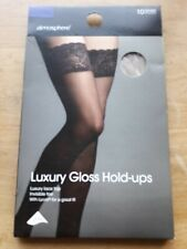 Atmosphere Luxury Glossy Natural Hold Ups 10 Den Size Medium