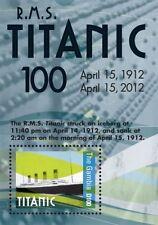Gambia 2012 - R.M.S. 100th Anniversary Titanic - Souvenir Sheet MNH