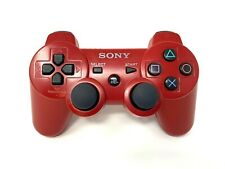 Red Sony Playstation PS3 Sixaxis DualShock 3 Controller - OEM TESTED CECHZC2U A1