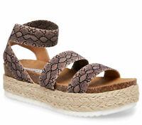 Steve Madden Women's Kimmie Snake Synthetic sandals