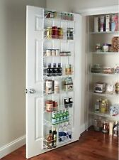 Over The Door Pantry Organizer Food Storage Systems Can Kitchen Adjustable Wall