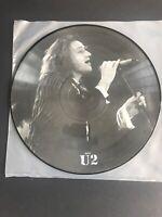 *RARE* U2 Interview Picture Disc BS 1012 UK Mispress Bruce Springsteen image