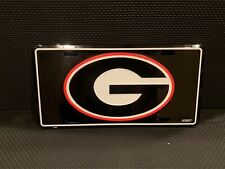 Georgia Bulldogs College Metal College License Plate Wall Sign Tag
