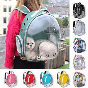 Cat Carrier Bags Breathable Pet Carriers Backpack Travel Cage for Cat Small Dogs