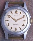 Timex USA Marlin 50s Vtg Cinch Nut Back Military Style Ingersoll Movement Ticks
