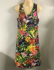 Target Botanical Tropical Floral Dress New Size 14 XL