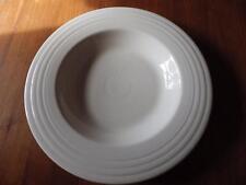 Fiesta USA White Wide Rimmed Pasta Bowl JJC (1999) USA Homer Laughlin
