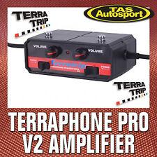 Terraphone Version 2  Professional Amplifier. Rally, Race. FULL AUS WARRANTY!!