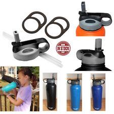 Straw Flip Lid Cap 18 32 40 60 64oz For HYDRO FLASK Wide Mouth Water Bottle