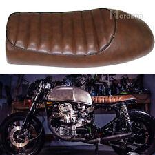 Brown Motorcycle Retro Hump Seat For CB350 CB400 CB500 CB750 SR400 SR500 XJ XS