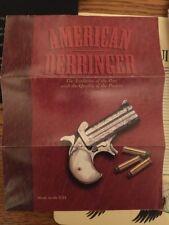 American Derringer Catalog Brochure From 1995 Or 1996